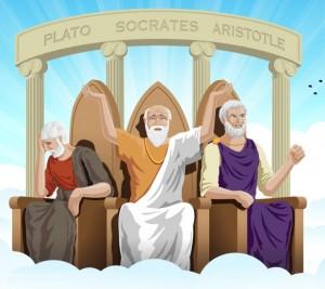 Platao_Socrates_Aristoteles