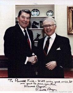 Russell-Kirk-and-Ronald-Reagan